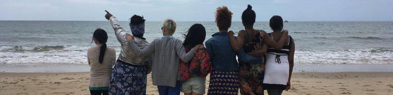 Medaille Trust Clients on the Beach