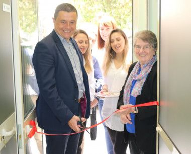 Medaille Trust CEO opening a new centre in Albania
