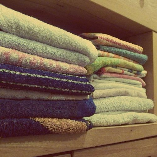 A group of towels
