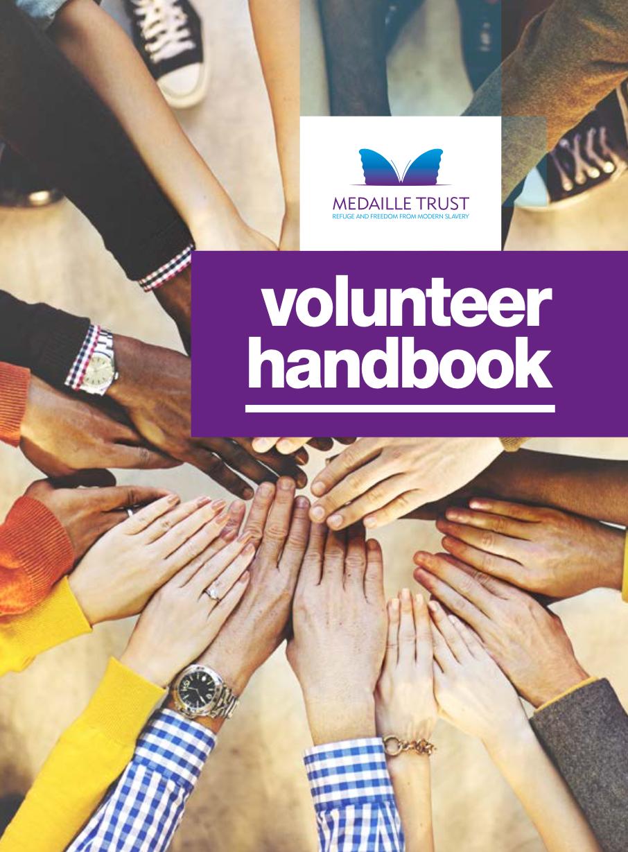 Volunteer Handbook cover