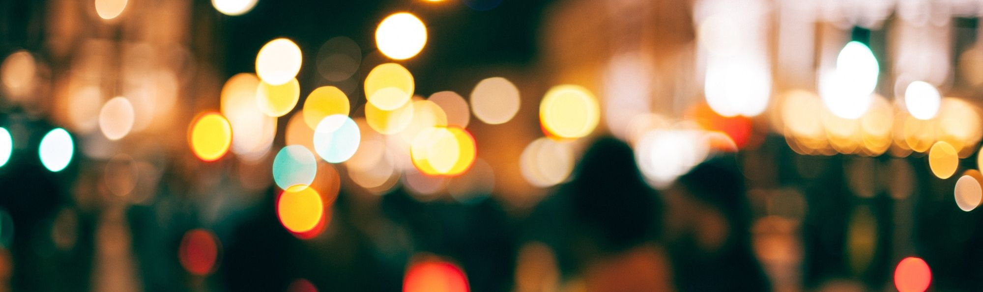 Some blurred lights
