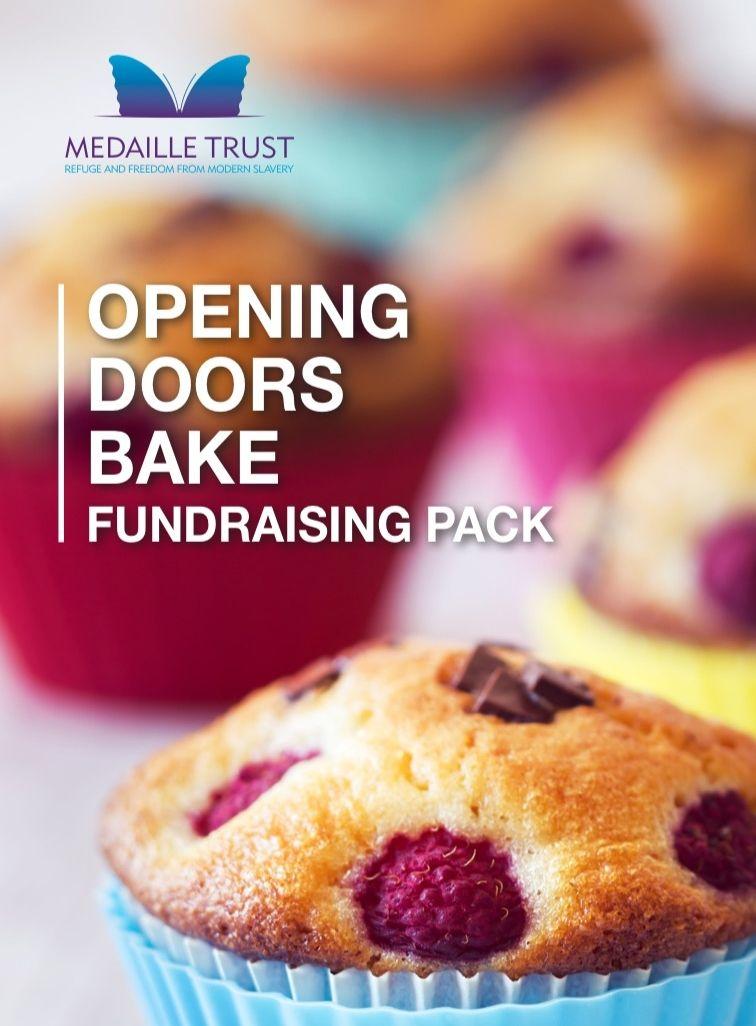 Open Doors bake fundraising pack