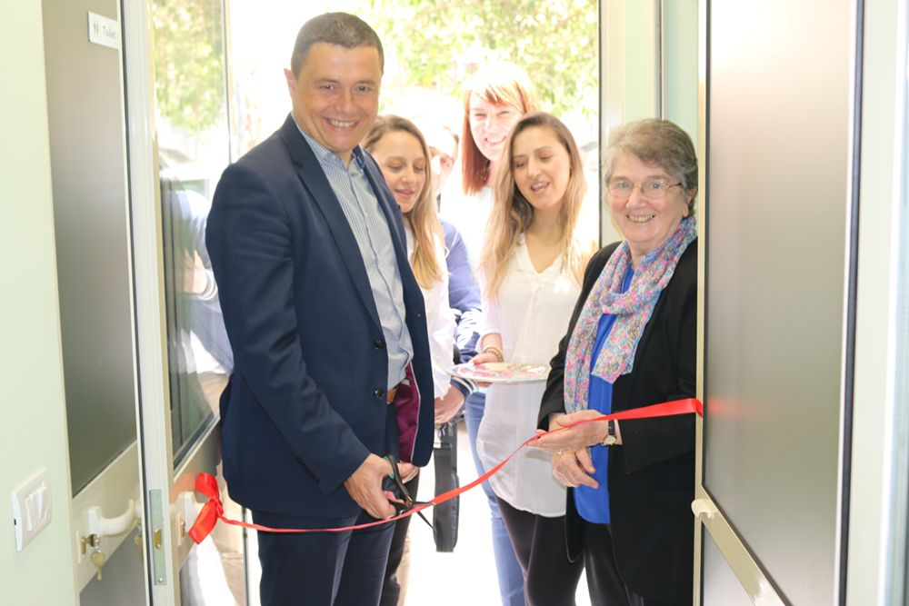 Opening the centre